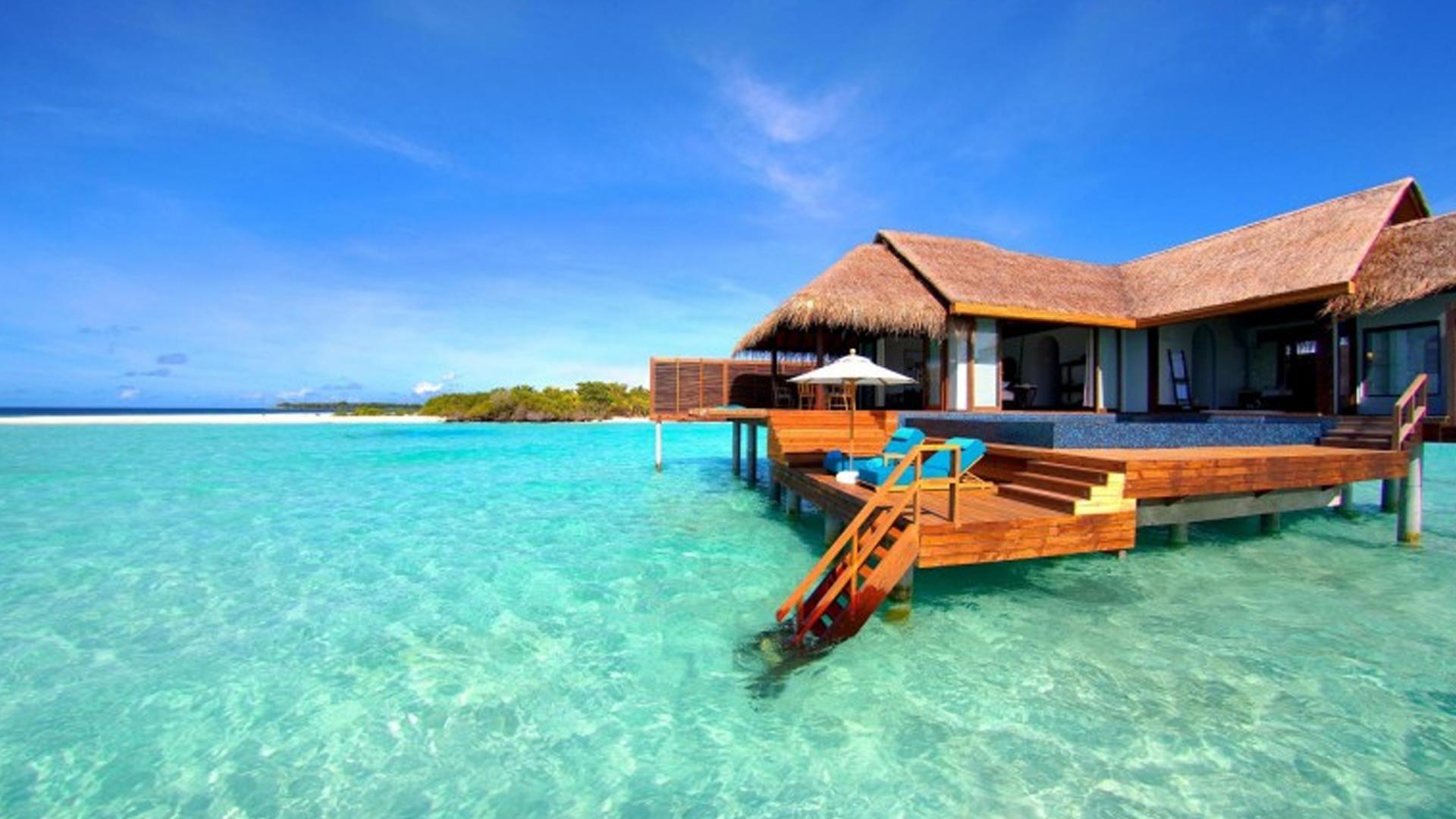 Bungalow sur l'Eau aux Maldives