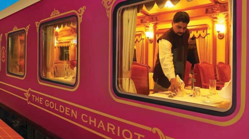Train de Luxe en Inde
