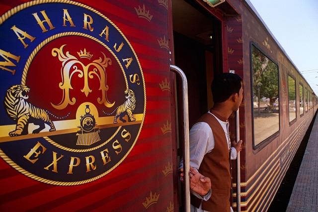 Voyage en train de luxe en Inde