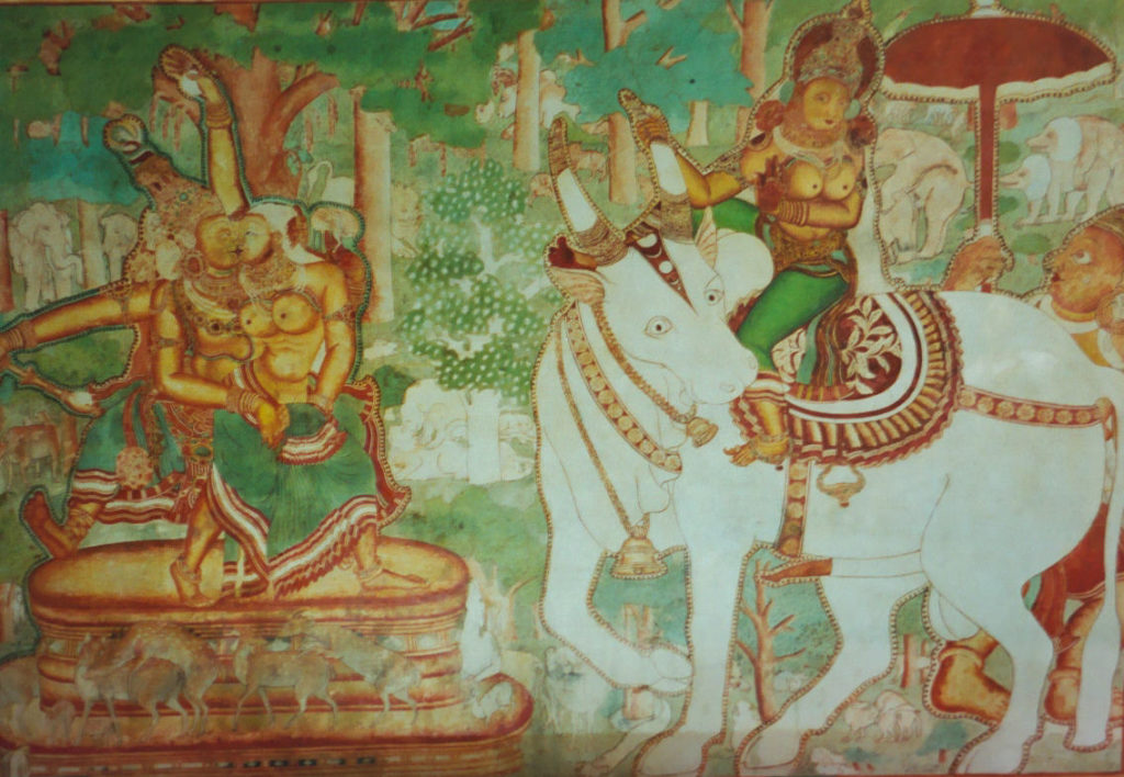 Peintures murales du palais de Mattancherry