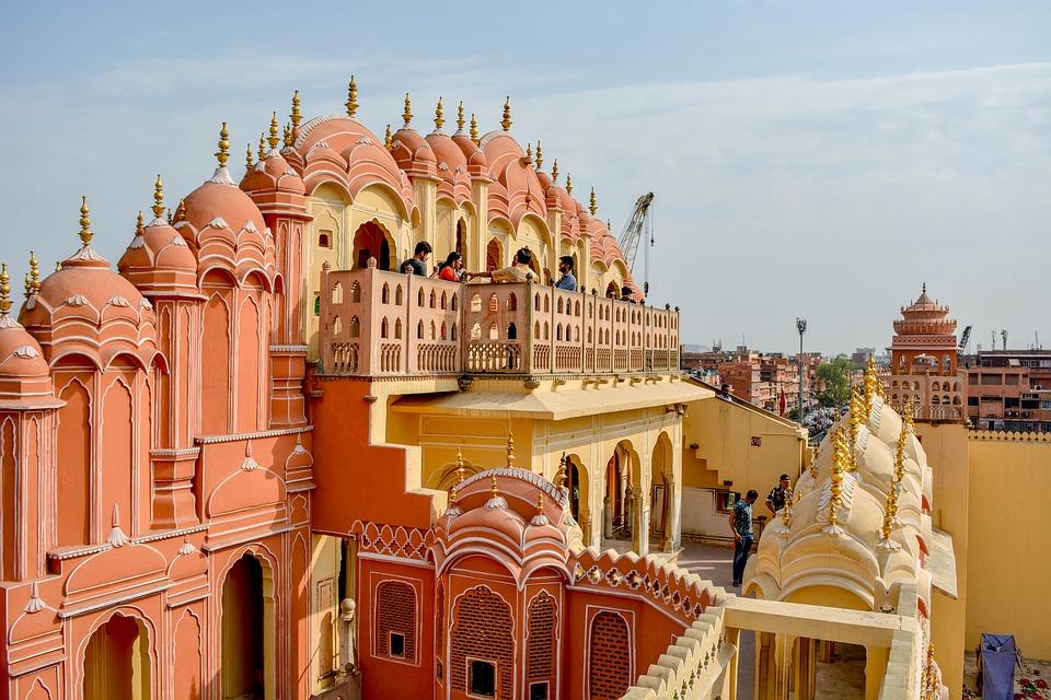 Palais du vent à Jaipur