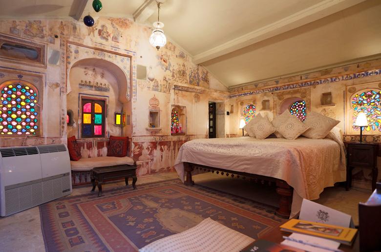 Chambre de l'hôtel Rawla Narlai
