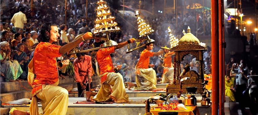Aarti à Varanasi