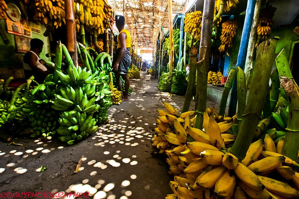 Marché de la banane