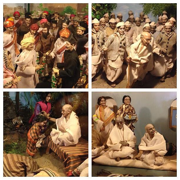 le musée Gandhi de Mani Bhavan