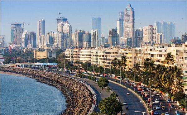 Marine Drive à Mumbai
