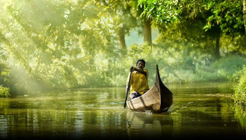 Alleppey au Kerala