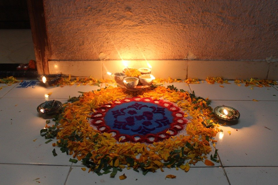 Le festival de Diwali en Inde