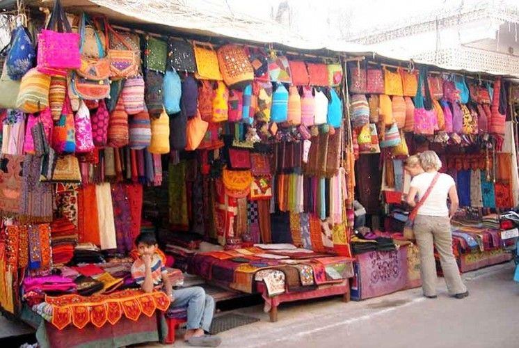 Bazars colorés de Jaipur
