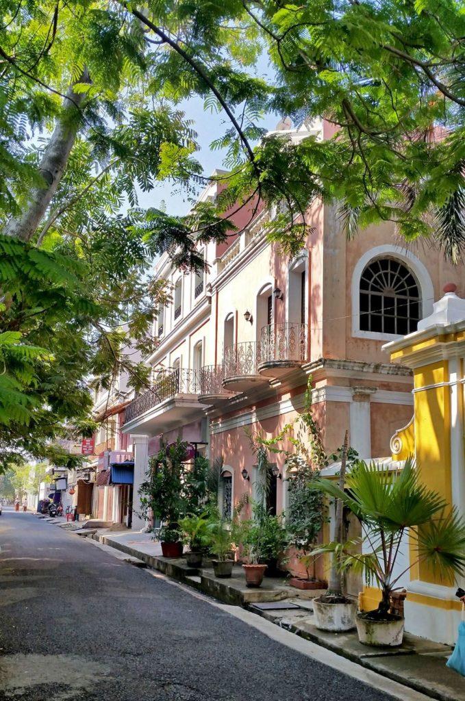 Quartier français à Pondichéry