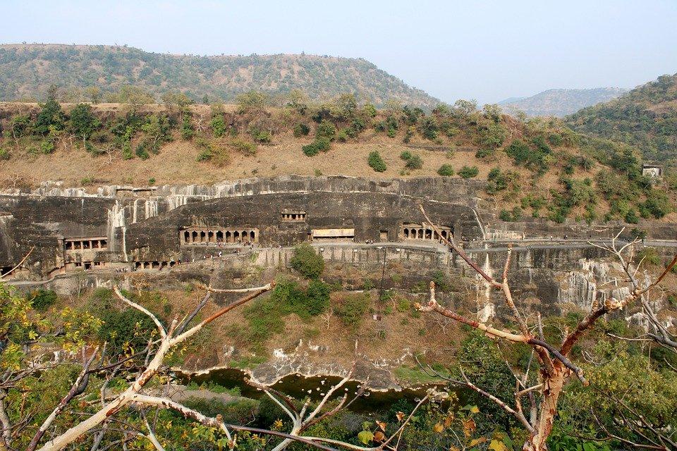Les grottes d'Ajanta