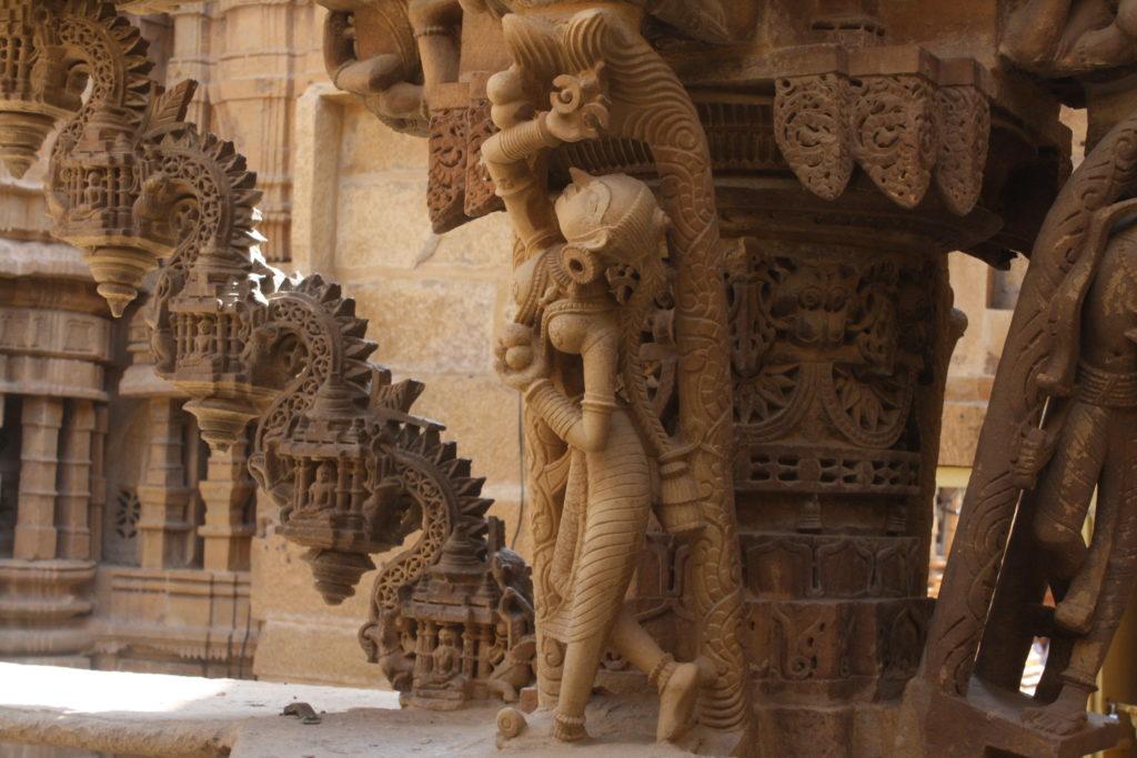 Temple Jain à l'intérieur du fort